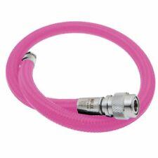 "MiFlex Bcd/Drysuit Lp Regulator Braided Hose Scuba Dive 22"" Pink"
