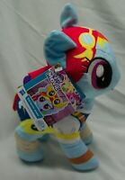 "MY LITTLE PONY Movie RAINBOW DASH PONY 10"" Plush STUFFED ANIMAL Toy NEW"