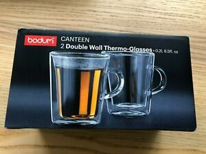 Bodum Canteen Double Wall Thermo-Glasses Box of two - 0.2l