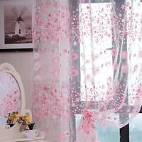 Rideau fils à fil voilage porte fenêtre voile moustiquaire maison décoration Hot