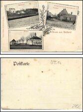 Saluti da maturo paese presso Lengefeld per 1900 stazione, scuola, locanda F. Haubold