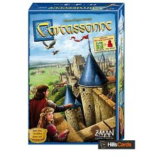 Carcassonne Board Game - 2015 New Edition - Core / Base - Card Tile Family