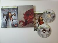 Dragon Age Origins SteelBook Xbox 360 Game Collector's Edition BioWare