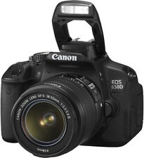 Canon EOS 650D Digital SLR Camera w/18-55mm DC III Lens Kit New