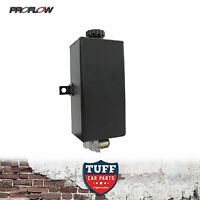 Proflow Black Windscreen Washer Tank Reservoir with 12 Volt Motor Vertical New