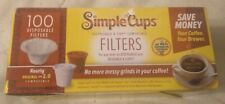Disposable Filters for Use Keurig Brewers Replacement Single Serve Paper Filters