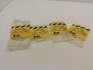 POLLAK 51-303 MASTER DISCONNECT FACE PLATE (LOT OF 4) NIB