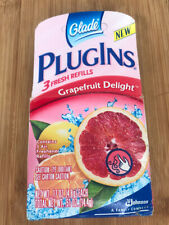 Glade Plugins Scented Gel 3 Refill Pack Grapefruit Delight Discontinued