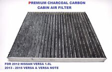 CARBONIZED Cabin Air Filter for NISSAN VERSA & NOTE Replacement 27278-1KK0A