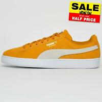Puma Suede Leather Mens Lifestyle Classic Casual Vintage Retro Trainers UK 8