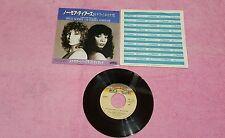 "Donna Summer Barbra Streisand no more tears Lucky   Japan 45 giri usato 7"""