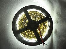 5 Meter 24V DC Kaltweiß LED Strip Streifen SMD 5050 Nicht Wasserdicht 300 LEDs