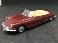 Norev DS 19 Cabriolet 1963 1/43 modele original pas Hachette