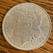 1887-P Gorgeous Philadelphia Minted Morgan Silver Dollar----90% SILVER