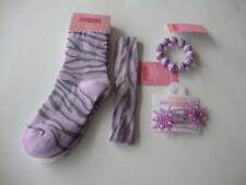 Gymboree Fashion Star Purple Kitty Socks Hair Clips Bracelet & Headband Nwt New