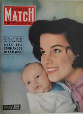 Paris Match n°365- 1956 - Envoyés spéciaux en Algérie avec les Commandos