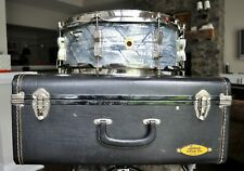 Ludwig Jazz Festival Sky Blue Pearl Snare Drum + Case
