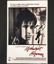 BILLY HAYES Signed MIDNIGHT EXPRESS 11x17 Movie Poster Photo w/ BAS Beckett COA