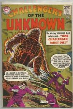 Challengers of the Unknown #32 Dc (1963) Silver Age Comic Fn+/Vf- (Volcano Man)
