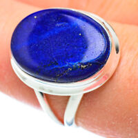 Lapis Lazuli 925 Sterling Silver Ring Size 8.25 Ana Co Jewelry R52240F