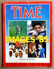 Time Dec 30 1985 IMAGES '85 Pictures of the Year