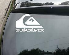 Quik Silver Coche Divertido/Ventana Jdm Vw Euro Dub Drift Vinilo Autoadhesivo con rápido