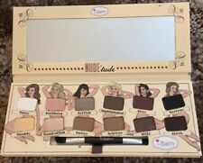 Nude Tude Naughty Eyeshadow Palette, The Balm Cosmetics,