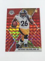 2020 Panini Mosaic Anthony McFarland Jr. Red Prizm SP Rookie RC #237 Steelers