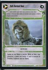 Star Wars CCG Hoth Black Border Hoth Survival Gear