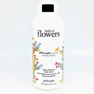New Philosophy Field Of Flowers Peony Blossom Body Lotion 32 oz NO PUMP