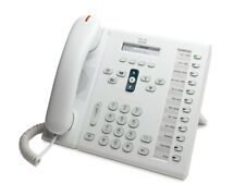 Cisco 6961 Unified IP Phone CP-6961-W-K9 White
