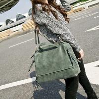 Women Large Messenger Hobo Satchel Shoulder Crossbody Bag Tote Purse 4 Color New