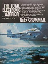 4//1980 PUB GRUMMAN A-6 A-6E INTRUDER US NAVY MARINE CORPS VIETNAM ORIGINAL AD