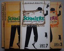 Die Schmiere, Rudolf Rolfs Die Schmiere, Kabarett, Kabarett Schmiere,