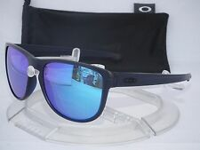 NEW OAKLEY SLIVER R SUNGLASSES OO9342-09 Matte Crystal Blue / Sapphire Iridium
