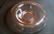 """Imperial Glass? (Pink - no etch) 11"""" ROLLED EDGE CONSOLE BOWL"""