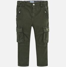 New Boys Mayoral Trousers Cargo Fit, Age 2 Years, (4536)