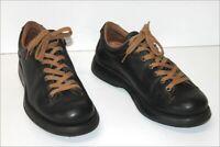 CAMPER Sneakers Homme Cuir Noir Doublés Cuir T 41 TBE