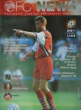 Programm 1999/00 OFC Offenbacher Kickers - Hannover 96