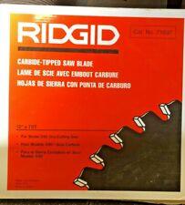 "New listing Ridgid Carbon Tipped Saw Blade (12"" x 70T)"