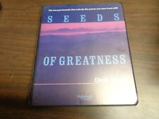 Seeds Of Greatness Denis Waitley 6 Audio Cassette Tapes The Ten Part Formula