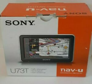 Sony NV-U73T Automotive Mountable GPS - NEW - OPEN BOX
