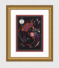 HIGH VALUE 1938 Original Wassily KANDINSKY Color Lithograph SIGNED Comets w/COA