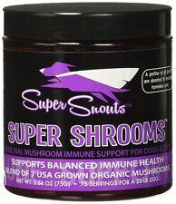 Super Snouts SUPER SHROOMS Organic Mushroom Immune Health Support for Dogs 75g