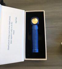 OLIGHT Perun 2000 Lumen Limited Edition Blue Rechargeable Handheld Flashlight