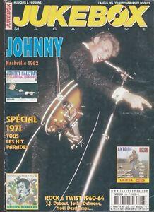 jukebox magazine n°296 Aout 2011 /  johnny nashville 1962