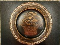 Beautiful Raymond Waites TOYO Decorative Fruit Basket Display Plate 10.25 inch