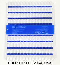 120 Tips Nail Art Tips Color Chart Display Rack Polish Palette Stand DIY