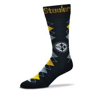 For Bare Feet Pittsburgh Steelers Fan Nation Socks OSFM Dress Socks FREE SHIP