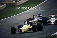Nicola Larini Coloni FC-187 Spanish Grand Prix 1987 Photograph